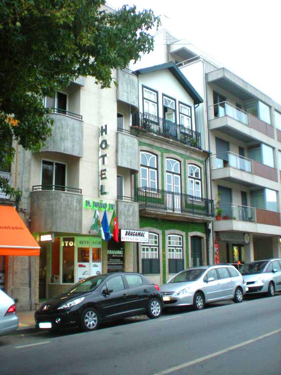 Exterior Hotel Dom João IV em Guimarães